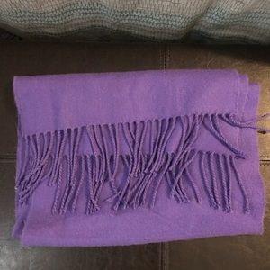 Accessories - Purple scarf